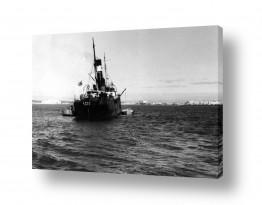 כלי שייט אוניה | תל אביב 1937 עמל חיפה