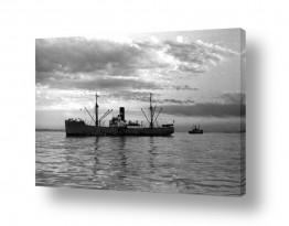 כלי שייט אוניה | תל אביב 1937 אונית מטען