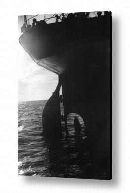צילומים ארץ ישראל הישנה | תל אביב 1937 הגה של אוניה