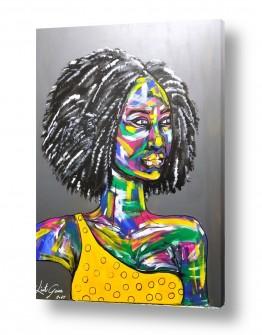 ציורים ליאת גבע | אפריקה