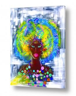 ציורים ליאת גבע | צבעונית