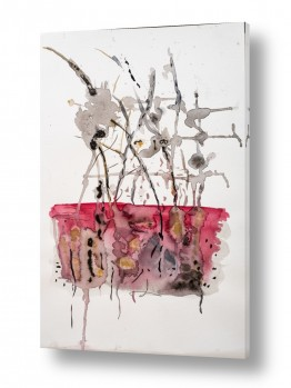 ציורים ציור בצבעי מים | spinne