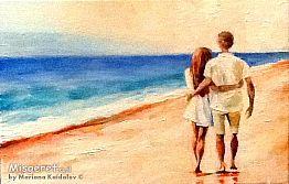 על חוף הים