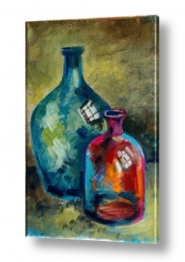 תמונות למטבח | בקבוקים 1