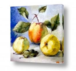 תמונות לפי נושאים בריאות | תפוחים על השולחן