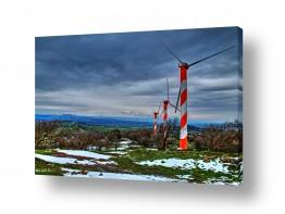 צילומים מזג-אוויר | הגולן המושלג