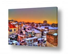 צילומים מבנים וביניינים | נחלאות תחת השלג