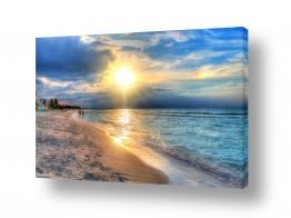 נוף חופים | שקיעה קובנית