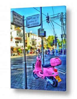 כלי רכב אופנועים | דיזנגוף ירמיהו והאופנוע