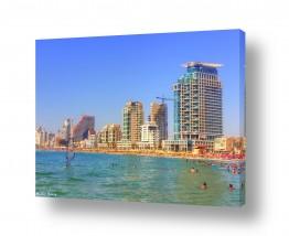 מיים ים | חוף הים בתל אביב