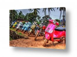 צילומים עיבודים | אופנועים בגואה