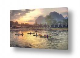 תמונות לחדרי ישיבות | סירות בנהר