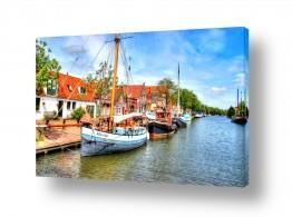 אירופה הולנד | עיירה ציורית