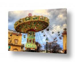 צילומים עירוני | כיסאות מעופפים