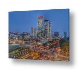 נוף עירוני בנינים | עיר האורות