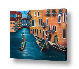 ציורים אנשים ודמויות | ונציה