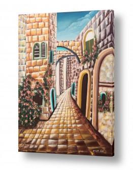 דלתות דלת וחלון | אבני ירושלים