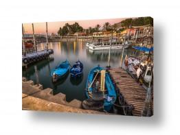 צילומים ארץ ישראלי | נמל עין גב