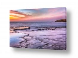 צילומים תמונות נוף | קשת צבעי הים