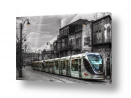 תמונות לפי נושאים פנס רחוב | ישן מול חדש..