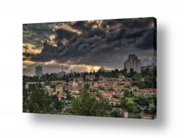בתים גגות | אור בירושלים