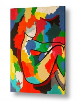 ציורים MMB Art Studio | She Comes In Color