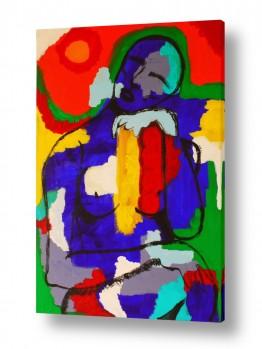 ציורים MMB Art Studio | אשה מהרהרת
