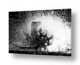 צילומים שחור לבן | לטחון מים
