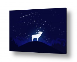 יונקים יעל | אייל וכוכבים