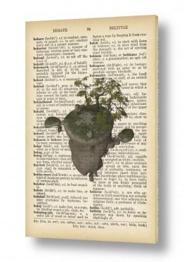 וינטג' ורטרו פרחים בסגנון רטרו   אי מרחף רטרו על טקסט