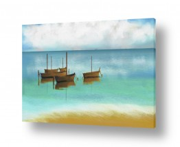 מים נוף ים | שלווה