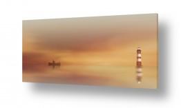ציורים מים | המגדלור