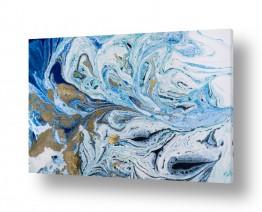 אבסטרקט מופשט מופשט מינימליסטי | Liquid dream 2