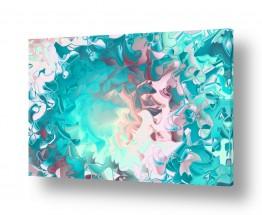 אבסטרקט מופשט מופשט מינימליסטי | ים של צבעים