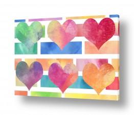 תמונות לחדרי ילדים | אהבה צבעונית
