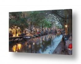תמונות לפי נושאים מנהרה   תעלה באמסטרדם
