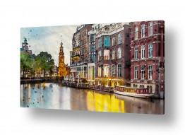 ציורים עירוני וכפרי | פסטורליה עירונית