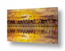 ציורים עירוני וכפרי | שעת הזהב