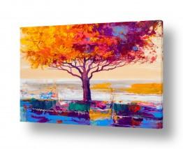 ציורים Artpicked  | עץ בצבעי שלכת