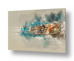 ציורים עירוני וכפרי | דברים שרואים מכאן..