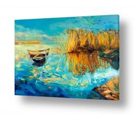 מיים אגמים | נוף עם סירות 6