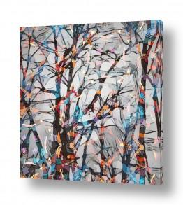 ציורים Artpicked  | יער מפוקסל