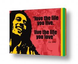 רגשות אושר | Bob Marley Quote