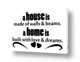 חדרים תמונות השראה | House made of walls