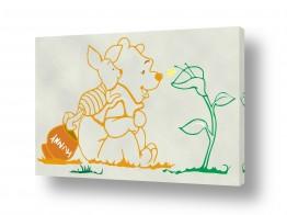 תמונות לחדרי ילדים | Pooh