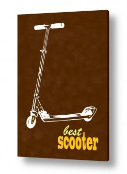 תמונות לחדרי ילדים | Scooter