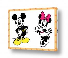 תמונות לחדרי ילדים | Mickey and Minnie