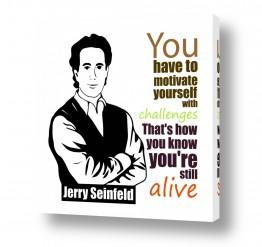 חדרים תמונות השראה | Jerry Seinfeld quote