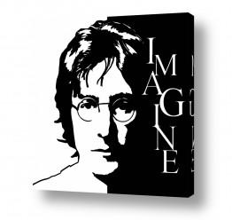 חדרים תמונות השראה | John Lennon