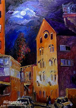 ליל ירח מלא בירושלים